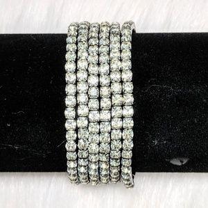 Jewelry - Rhinestone Bracelet Set